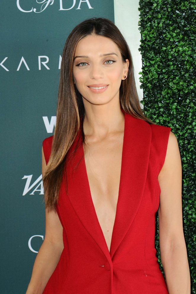 Angela Sarafyan - CFDA Variety and WWD Runway to Red Carpet in LA