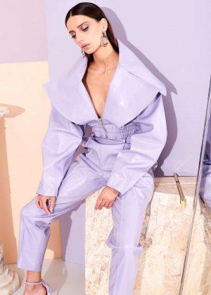 Angela Sarafyan - Christian Siriano Pre-Fall 2019 Fashion Collection