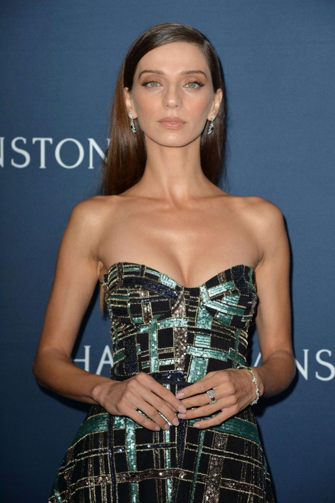 Angela Sarafyan - Harry Winston Unveils 'New York Collection' in NYC