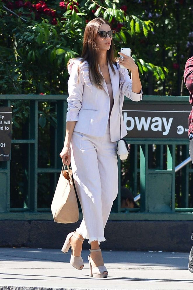 Angela Sarafyan - Seen Out In New York