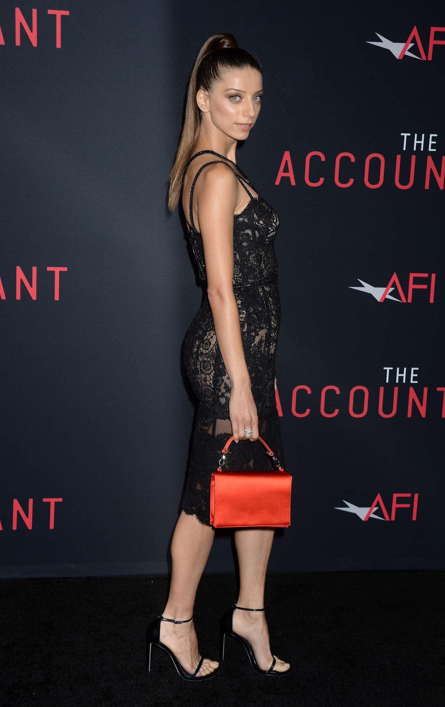 Angela Sarafyan: The Accountant LA Premiere -11