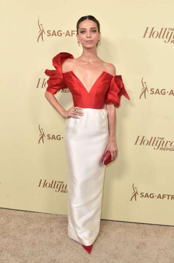 Angela Sarafyan - THR and SAG-AFTRA's Emmy Nominees Night Party in LA