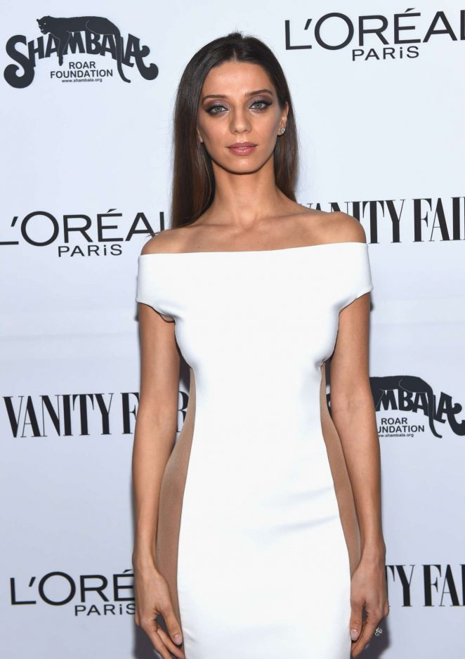 bac6d5788d20 Angela Sarafyan – Vanity Fair and L Oreal Paris Toast to Young Hollywood in  West Hollywood – GotCeleb