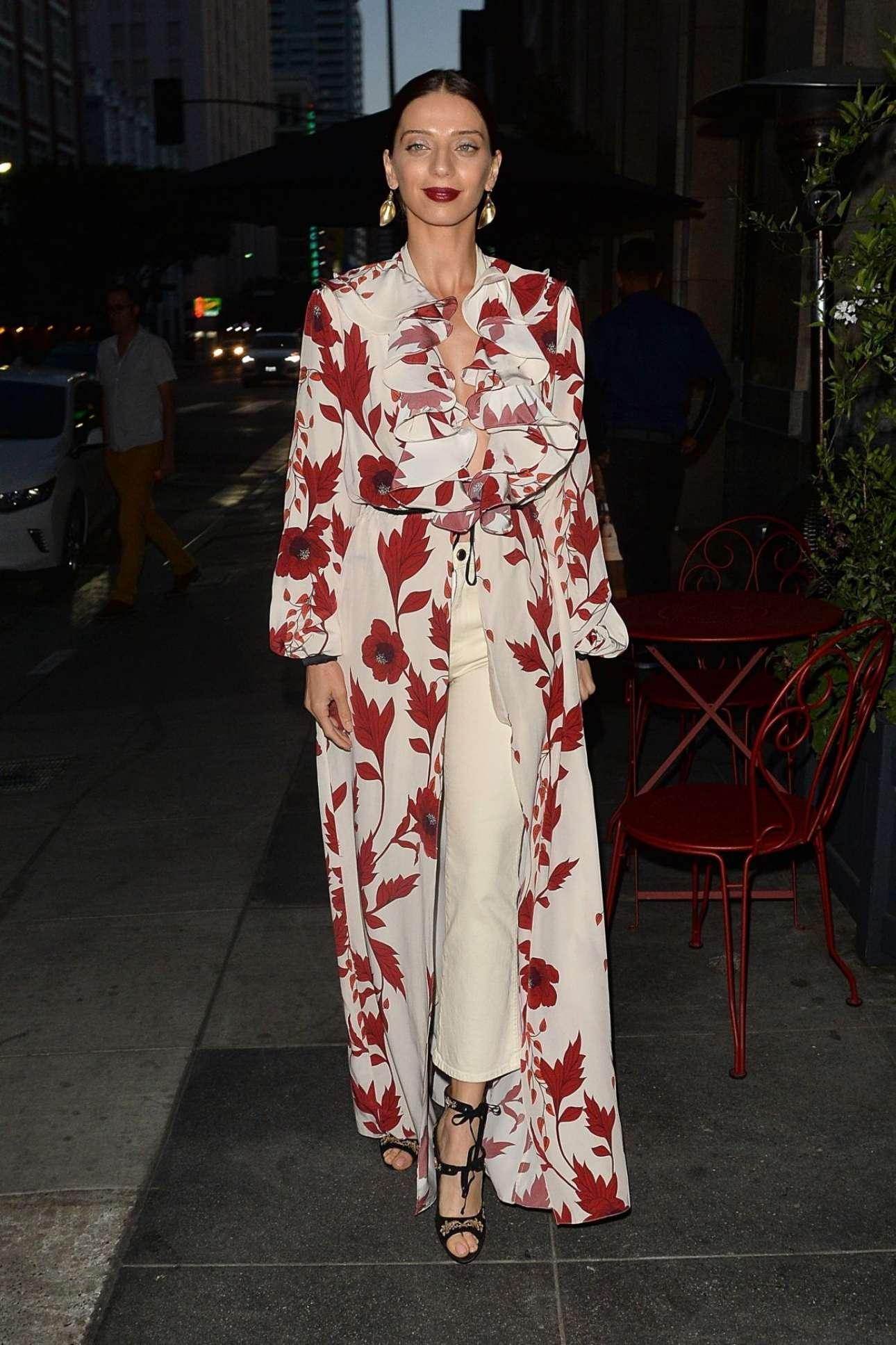 Angela Sarafyan – Vogue Denim Dinner In Los Angeles