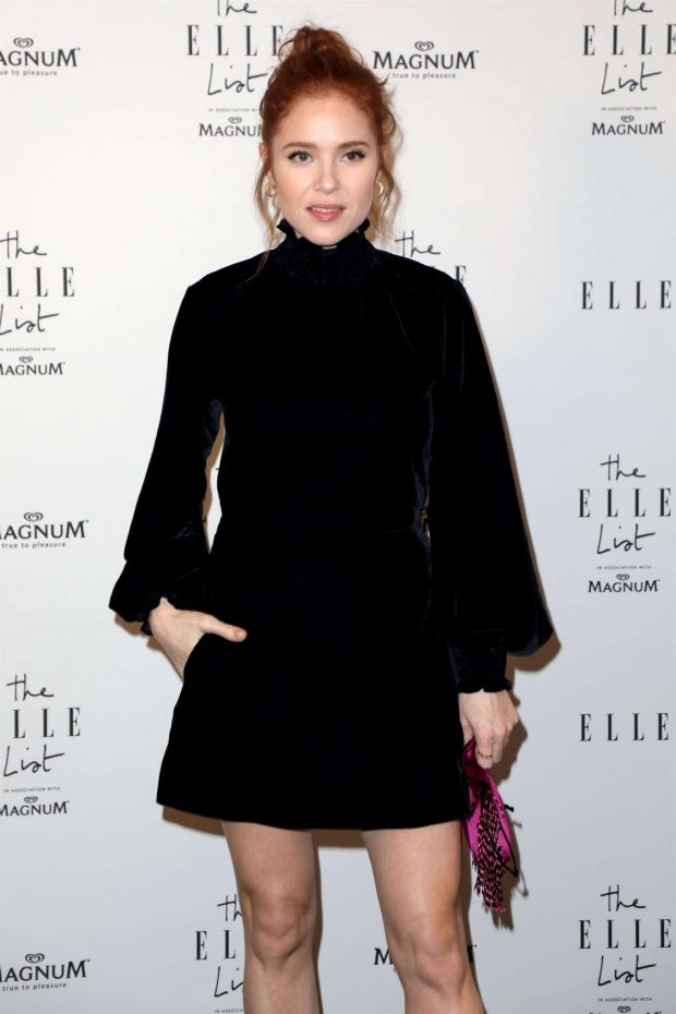 Angela Scanlon - 2019 ELLE List in association with MAGNUM ice cream in London