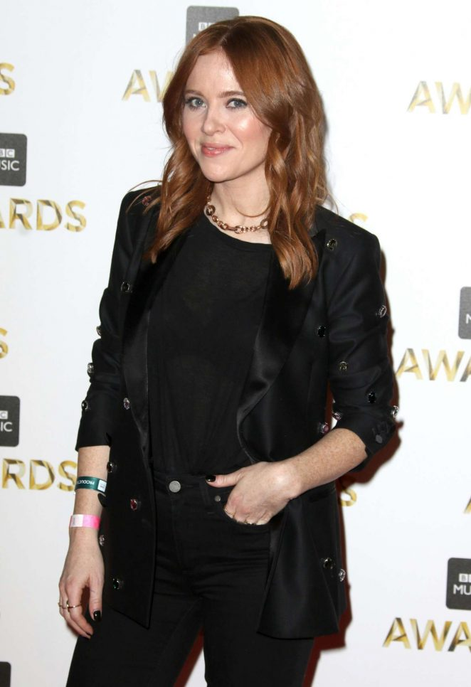 Angela Scanlon - BBC Music Awards 2016 in London