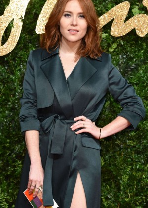 Angela Scanlon - British Fashion Awards 2015 in London