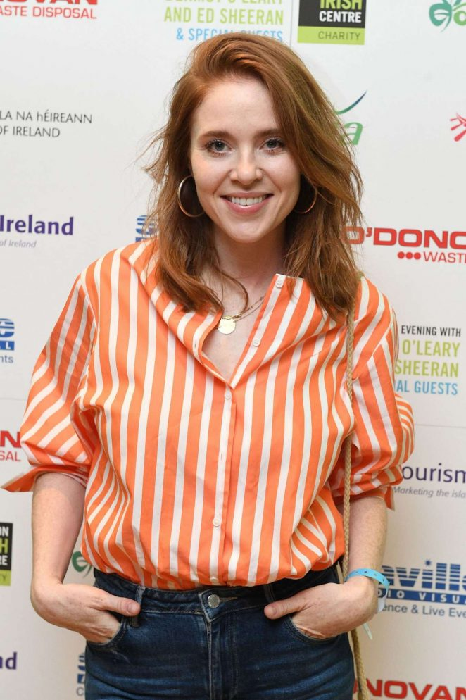 Angela Scanlon - The London Irish Center Gala in Camden