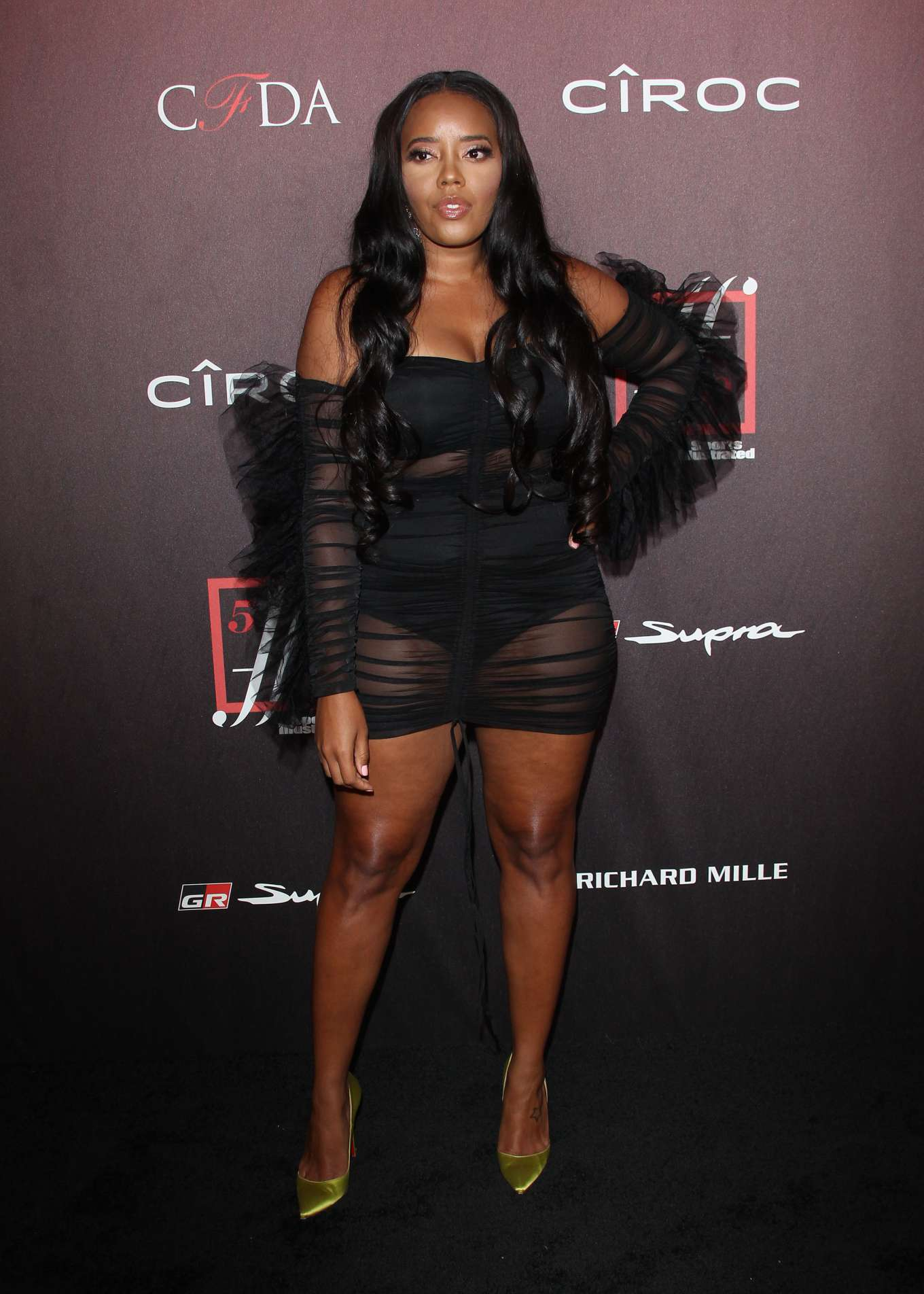 Angela Simmons - 4th Annual Sports Illustrated Fashionable 50 Party in LA