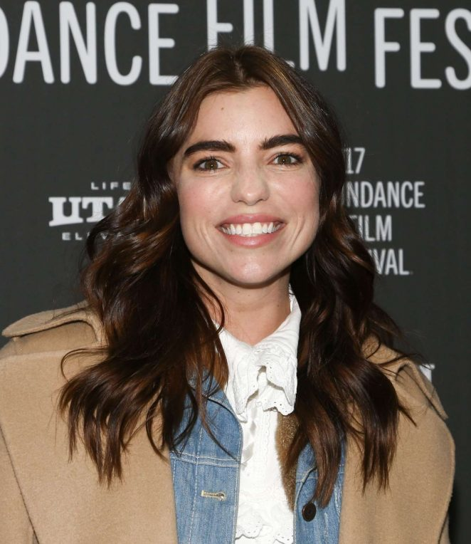 Angela Trimbur - 'LA Times' Premiere at 2017 Sundance Film Festival in Utah