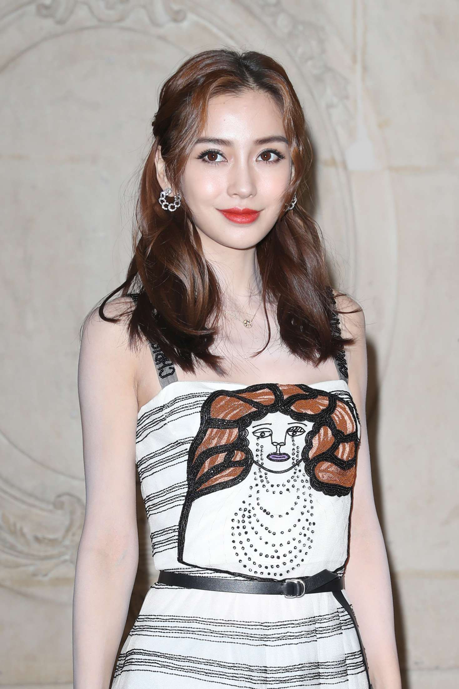 AngelaBaby - Christian Dior Fashion Show 2018 in Paris