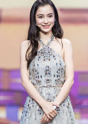 Angelababy - Tmall 11.11 Global Shopping Festival Gala in Shanghai