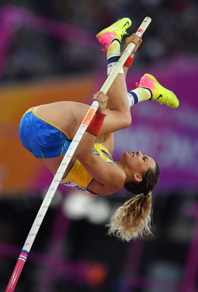 Angelica Bengtsson - Women's Pole Vault Final at 2017 IAAF World Championships in London