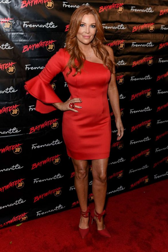 Angelica Bridges - Baywatch 30th Anniversary in Los Angeles