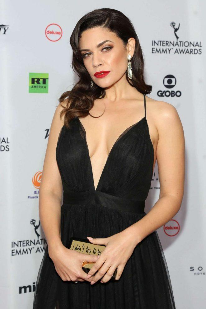Angelica Celaya - 46th International Emmy Awards Gala in New York