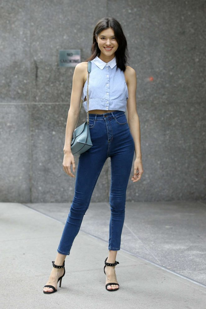 Angelica Erthal at Casting Call for the Victoria's Secret Fashion Show 2018 in NY