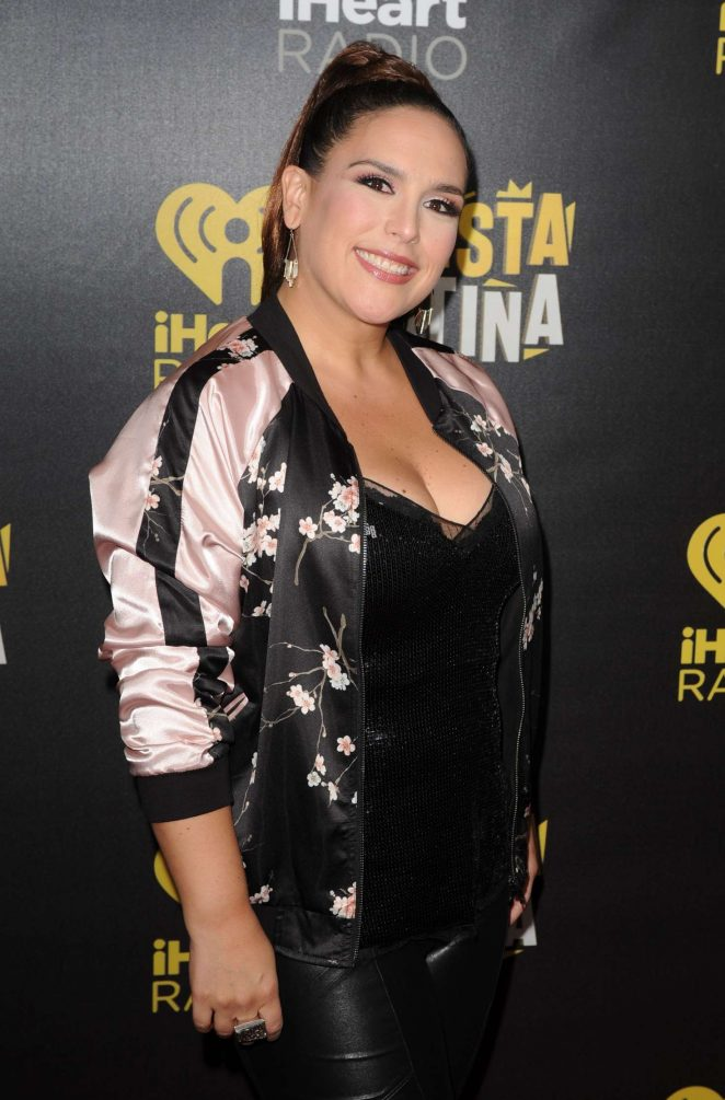 Angelica Vale - iHeart Radio Fiesta Latina 2016 in Florida