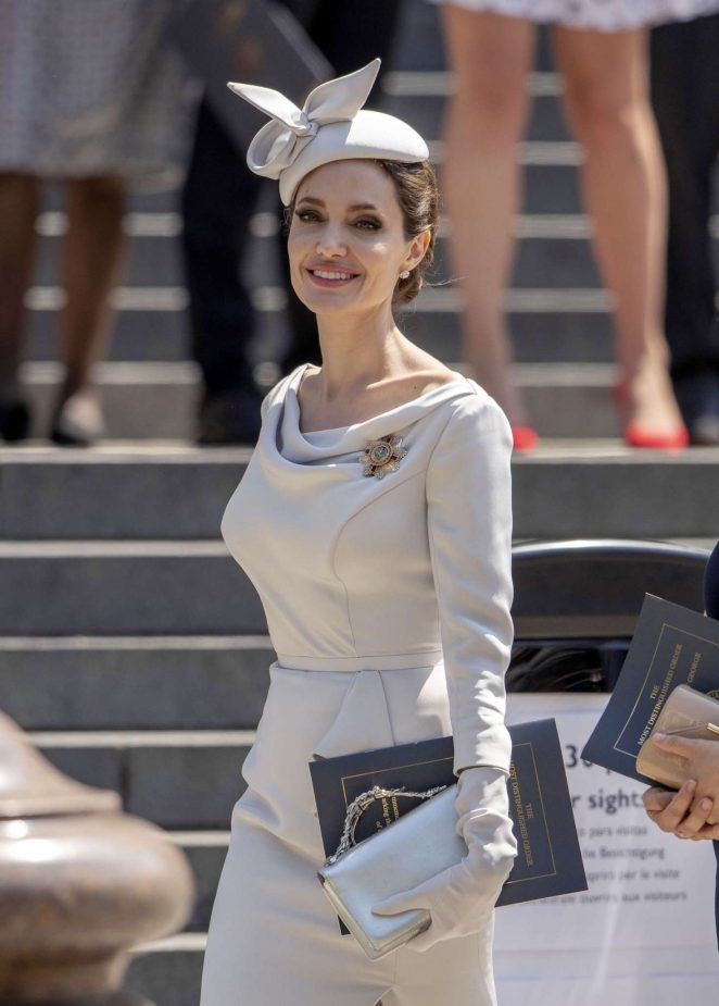 Angelina Jolie - 200th Anniversary of Most Distinguished Order of St Michael and St George in London