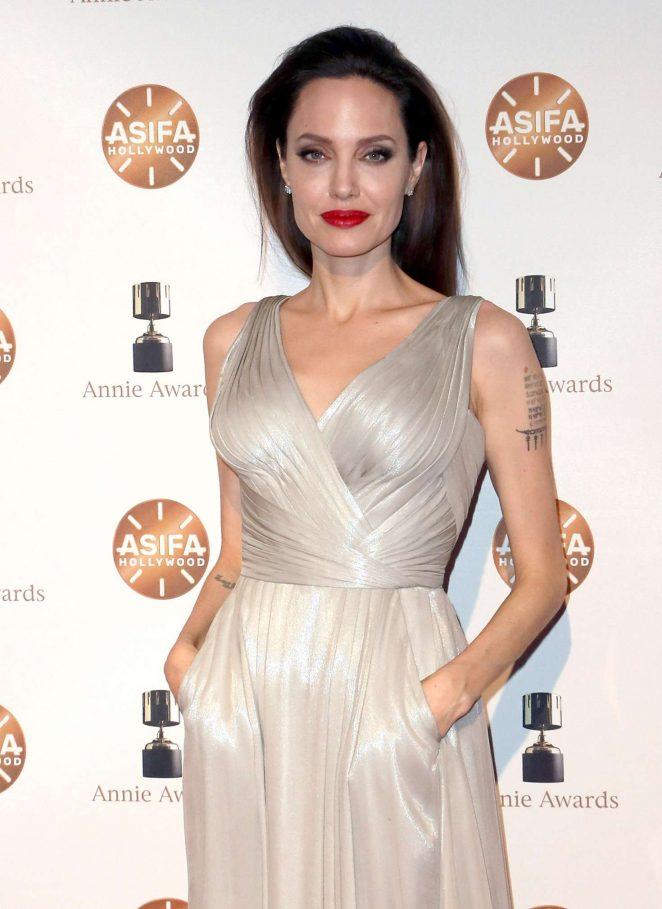 Angelina Jolie - 2018 Annie Awards in LA