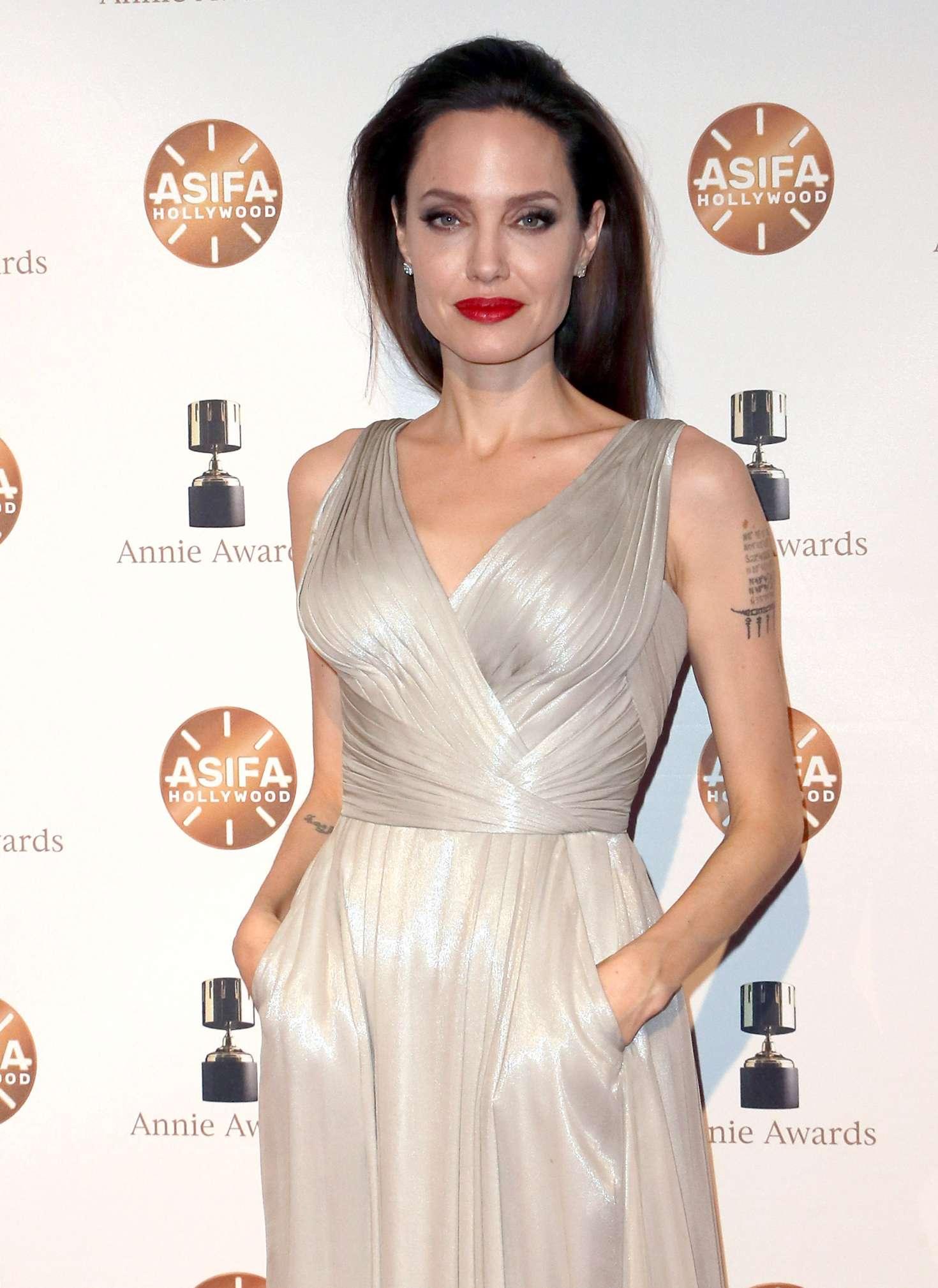 Angelina Jolie 2018 Annie Awards In LA