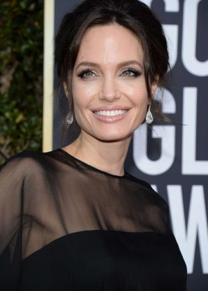Angelina Jolie - 2018 Golden Globe Awards in Beverly Hills