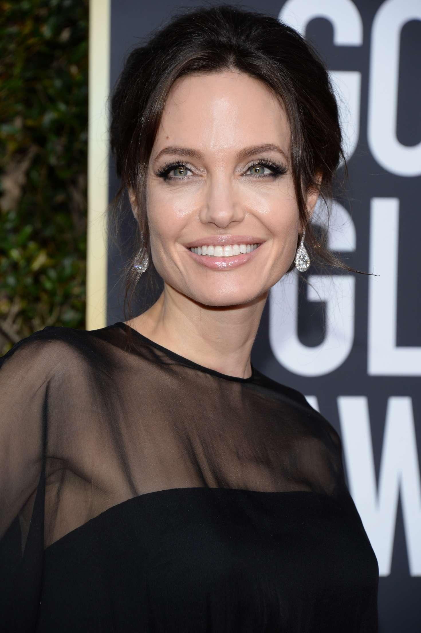 Angelina Jolie - 2018 Golden Globe Awards in Beverly Hills