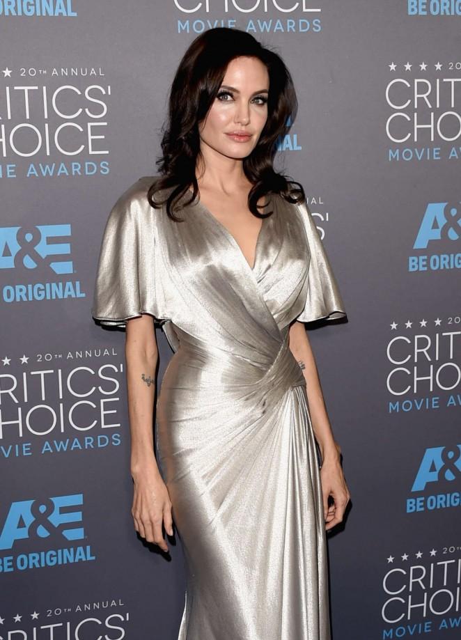Angelina Jolie – 20th Annual Critics Choice Movie Awards in LA