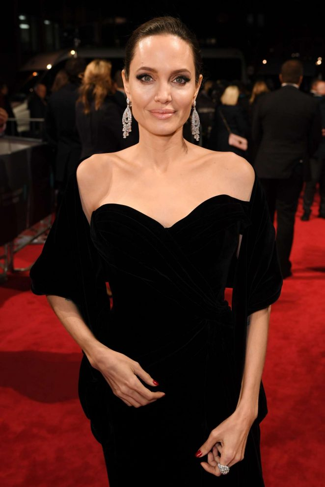 Angelina Jolie - 2018 BAFTA Awards in London