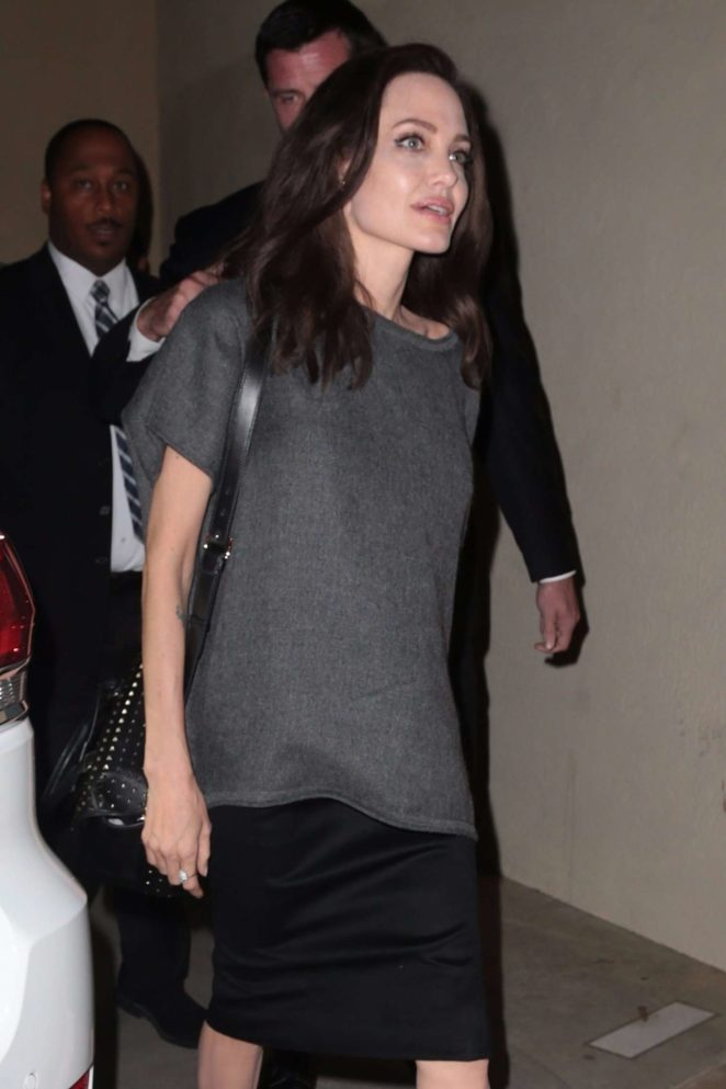 Angelina Jolie - Arrives at Egyptian Theatre in Hollywood