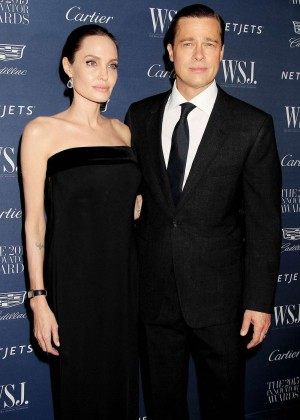 Angelina Jolie & Brad Pitt - WSJ Magazine Hosts The 2015 Innovator Awards in NYC