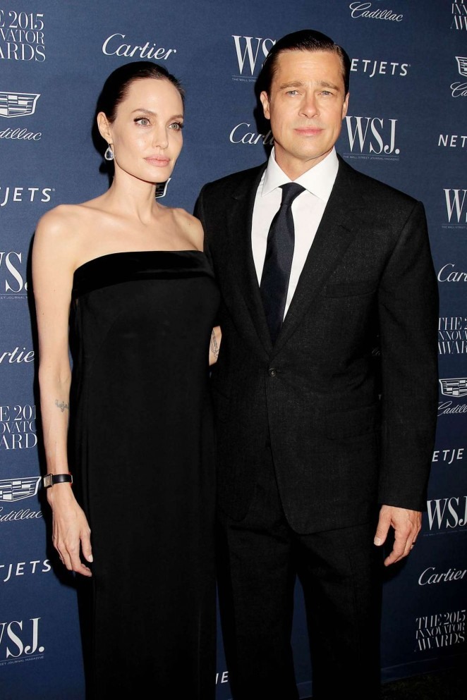 Angelina Jolie & Brad Pitt - WSJ Magazine Hosts The 2015 Innovator Awards in NYC