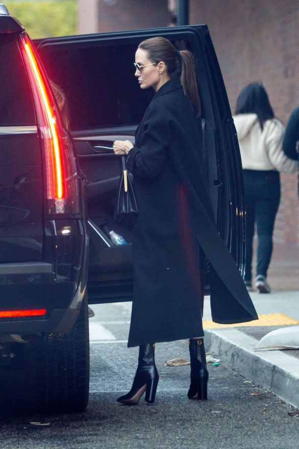 Angelina Jolie - Christmas Shopping in Los Angeles