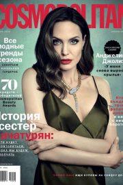 Angelina Jolie - Cosmopolitan Russia Magazine (October 2019)