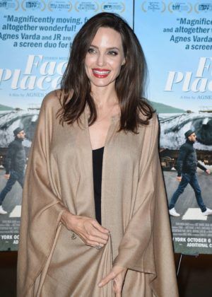 Angelina Jolie - 'Faces Places' Premiere in West Hollywood