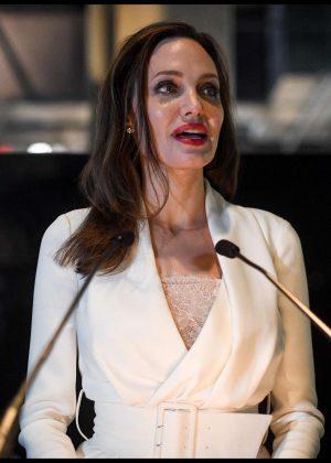 Angelina Jolie - Fighting Stigma through Film in London