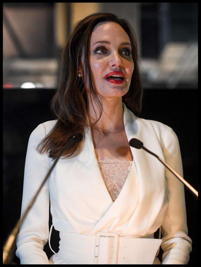 Angelina Jolie – Fighting Stigma through Film in London