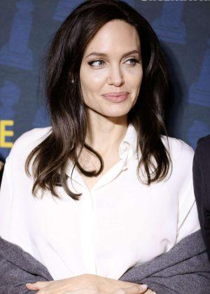 Angelina Jolie - Golden Globe Foreign-Language Nominees Series 2018 Symposium in LA