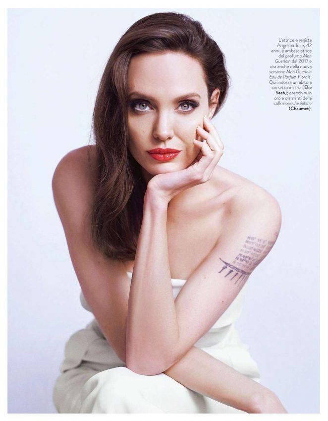 Angelina Jolie – Grazia Italy Magazine (March 2018)