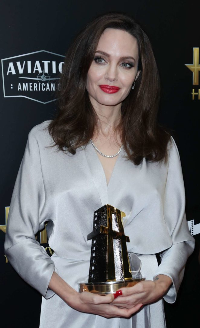 Angelina Jolie - Hollywood Film Awards 2017 in Los Angeles