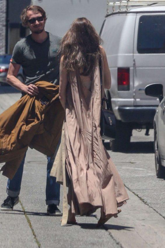 Angelina Jolie in Long Dress-09