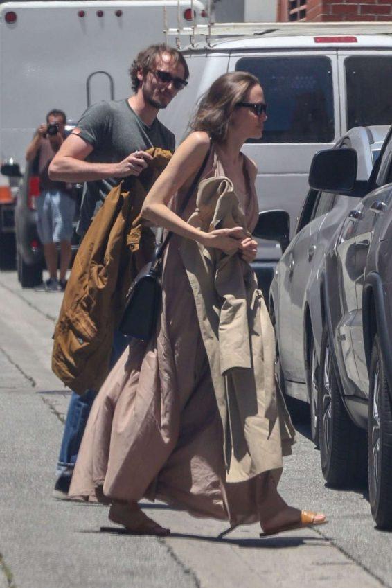 Angelina Jolie in Long Dress-12