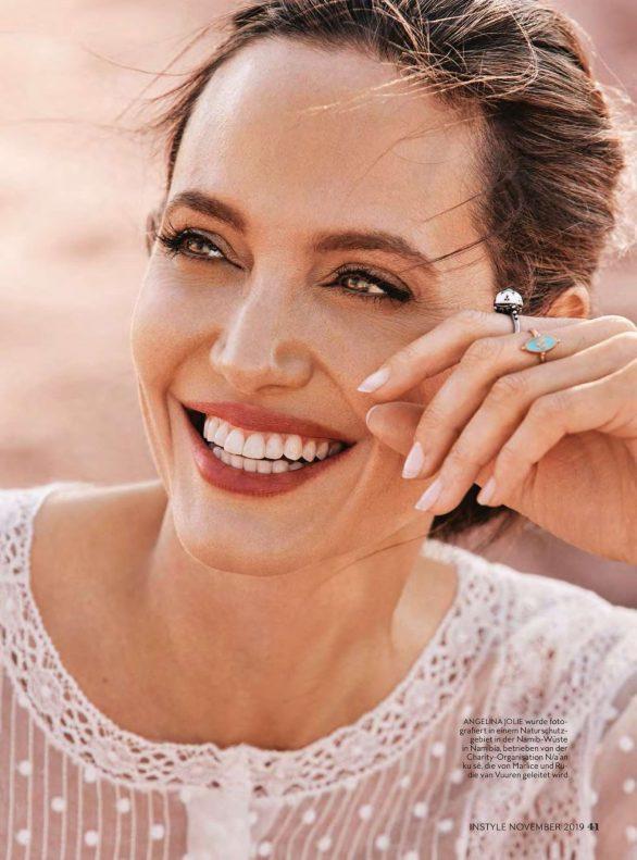 Angelina Jolie - InStyle Germany Magazine (November 2019)