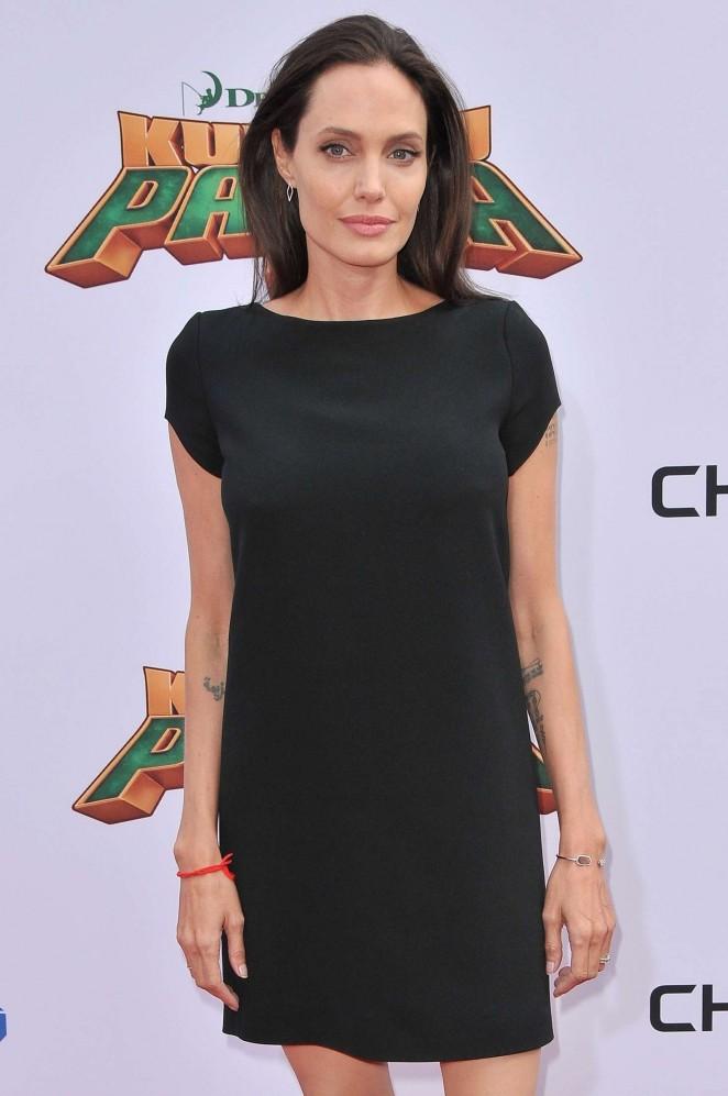 Angelina Jolie – 'Kung Fu Panda 3' Premiere in Hollywood