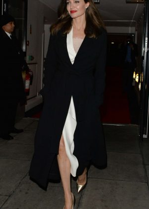 Angelina Jolie - Leaving the BFI in London
