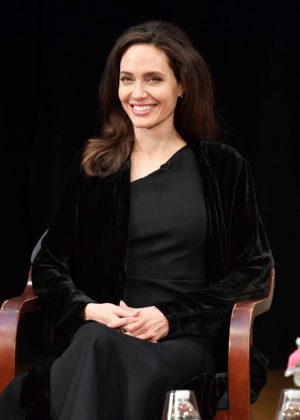 Angelina Jolie - 'Light After Darkness: Memory, Resilience and Renewal in Cambodia' discussion in NY