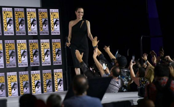 Angelina Jolie 2019 : Angelina Jolie – Marvel Panel at Comic Con San Diego 2019-01