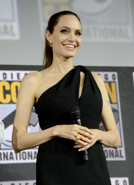 Angelina Jolie - Marvel Panel at Comic Con San Diego 2019