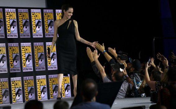 Angelina Jolie 2019 : Angelina Jolie – Marvel Panel at Comic Con San Diego 2019-03