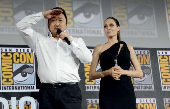 Angelina Jolie 2019 : Angelina Jolie – Marvel Panel at Comic Con San Diego 2019-06