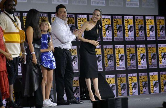 Angelina Jolie 2019 : Angelina Jolie – Marvel Panel at Comic Con San Diego 2019-07